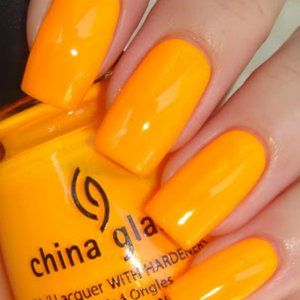 China Glaze .5 oz = Sun Worshipper NEW